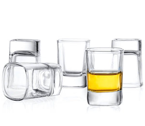 City Shot Glasses Set Of 6