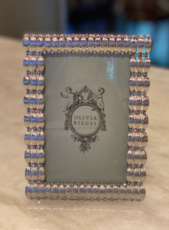 Olivia Riegel Darby Silver Picture Frame