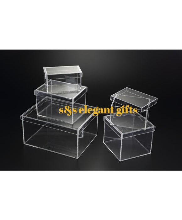 Acrylic Clear Box 6x4