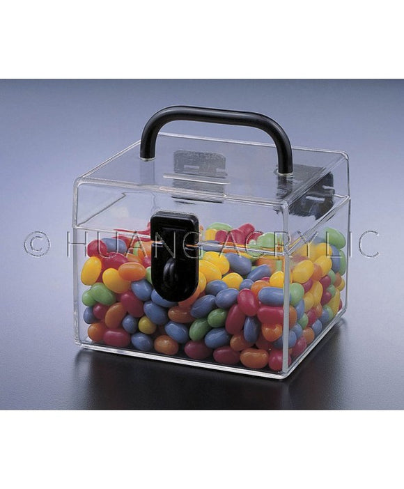 Lucite KIDDIE COIN BANK/CANDY CARRIER