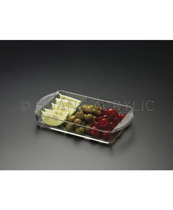 Lucite COCKTAIL/ALL PURPOSE TRAY
