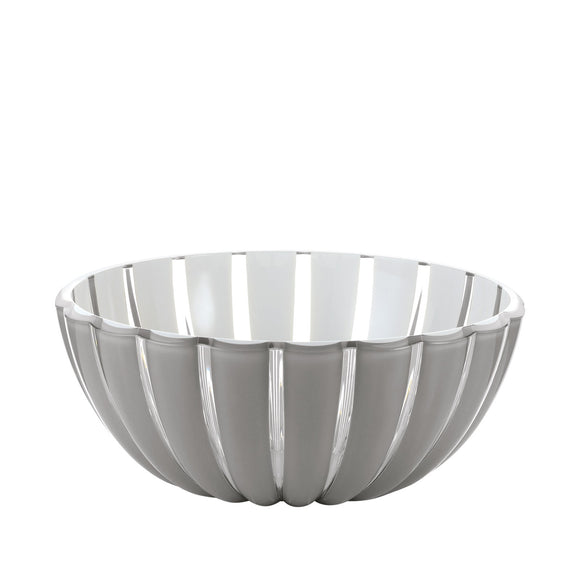 Lucite Striped Bowl