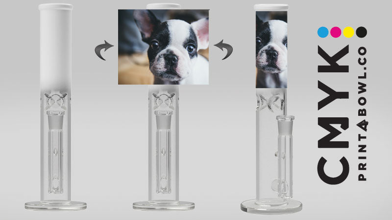 Introducing New Line of Custom Photo Bongs, CMYK