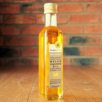 What to do with oak smoked rapeseed oil?