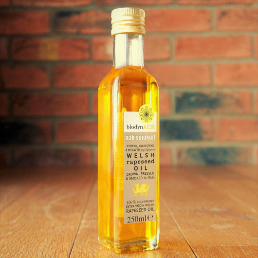 Blodyn Aur - Welsh Oak Smoked Rapeseed Oil - Taste of Wales