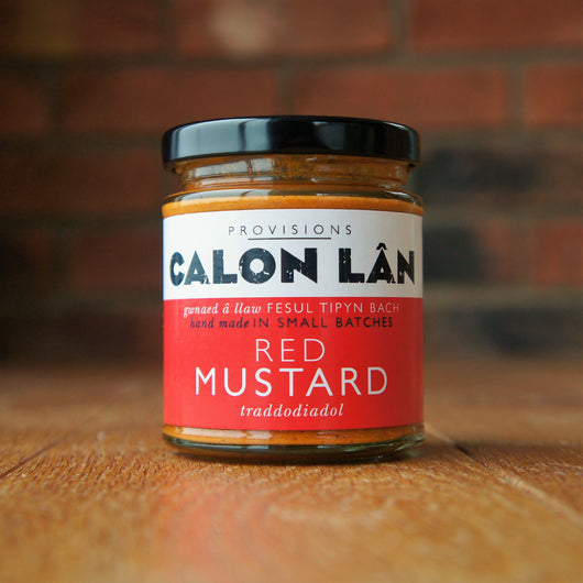 Calon Lân - Red Mustard - Taste of Wales