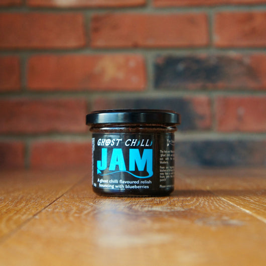 Dangerous Foods - Ghost Chilli & Blueberry Jam - Taste of Wales