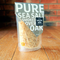 Halen Môn - Oak Smoked Pure Sea Salt - Taste of Wales