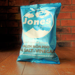 Jones Crisps - Halen Môn Sea Salt & Vinegar - Taste of Wales