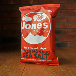 Jones Crisps - Halen Môn Sea Salt - Taste of Wales