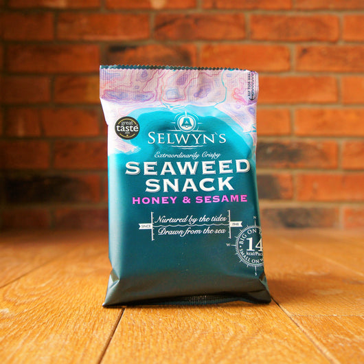 Selwyn's - Honey and Sesame Seaweed Snacks - Taste of Wales