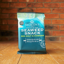Selwyn's - Sea Salt and Vinegar Seaweed Snacks - Taste of Wales