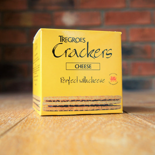 Tregroes Crackers - Cheese - Carton of 8 - Taste of Wales