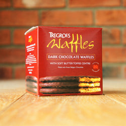 Tregroes Waffles - Dark Chocolate Waffles - Taste of Wales