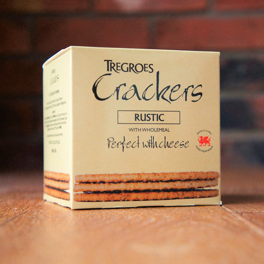 Tregroes Crackers - Rustic - Carton of 8 - Taste of Wales