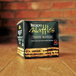 Tregroes Waffles - Carton of 8 Toffee Waffles - Taste of Wales
