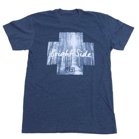 Bright Side Tee - Navy