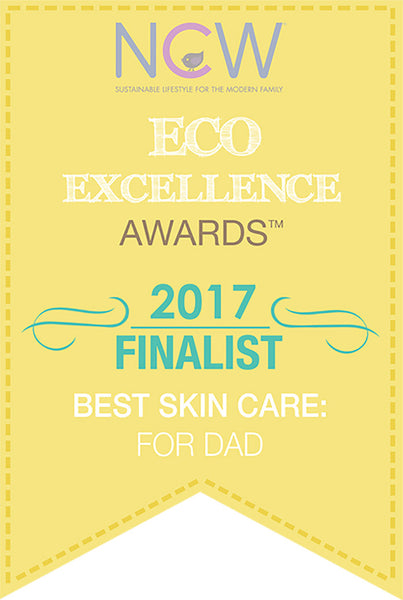 Eco Excellence Award Best Skin Care For Dads