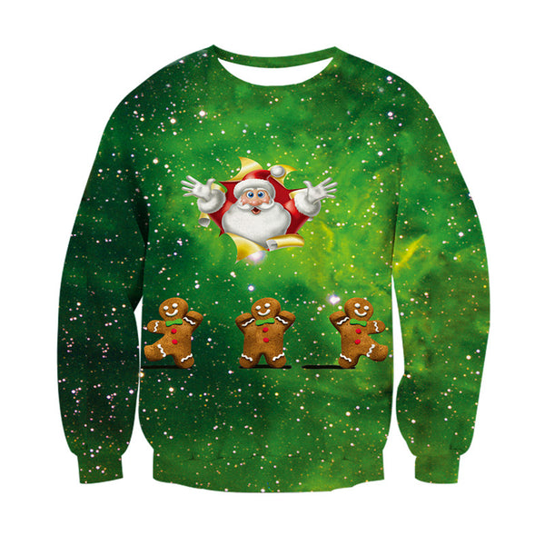 gingerbread men ugly christmas sweater menwomen edm clothing company