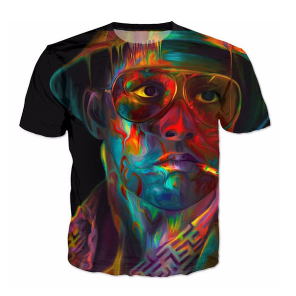 Fear and Loathing in Las Vegas Trippy Unisex T-shirt - EDM Clothing Company