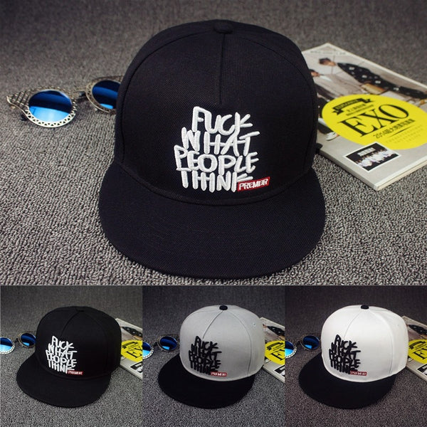 Fuck What People Think Snapback Hat - EDM Clothing Company