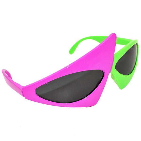 Roy Purdy Style Asymmetric Sunglasses - EDM Clothing Company