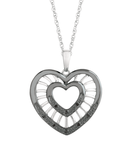 Rich Heart Pendant