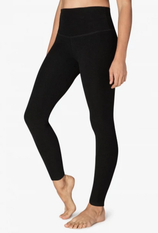 Beyond Yoga Take Me Higher Spacedye Legging Darkest Night