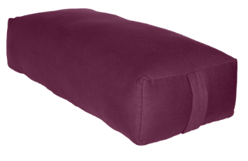 RECTANGULAR BOLSTER PLUM