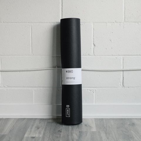 B Yoga B Mat Strong Black