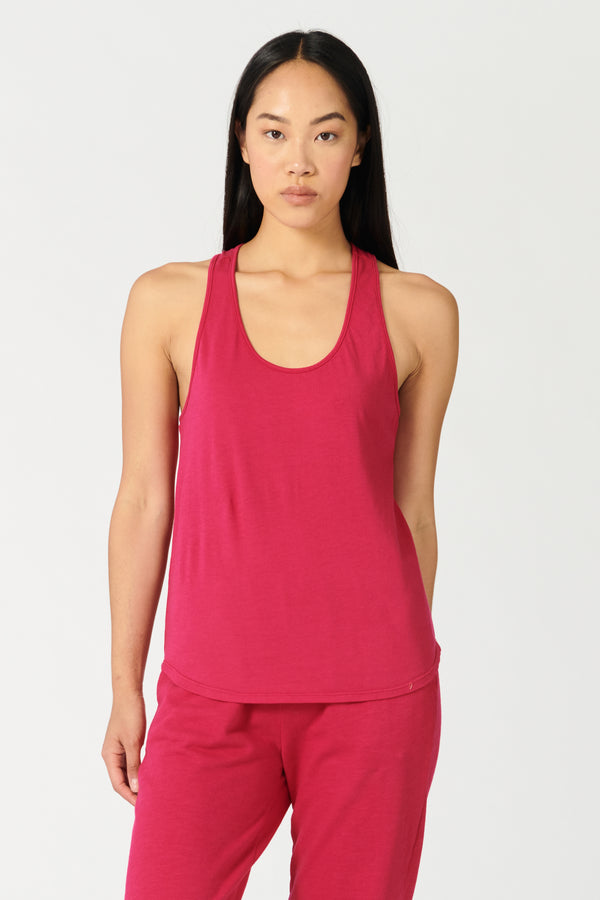 GROUNDWORK TANK PUNCH PINK
