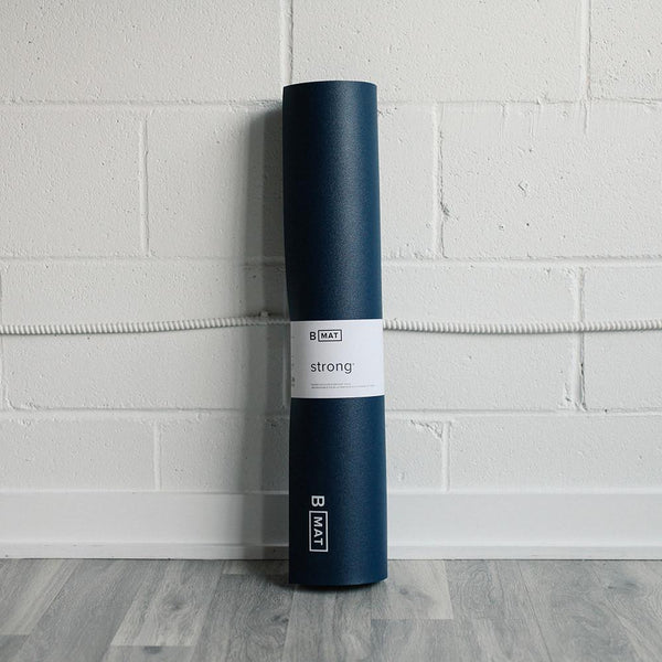 B Yoga B Mat Strong Long Blue