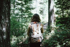 Hikers usually travel great distances