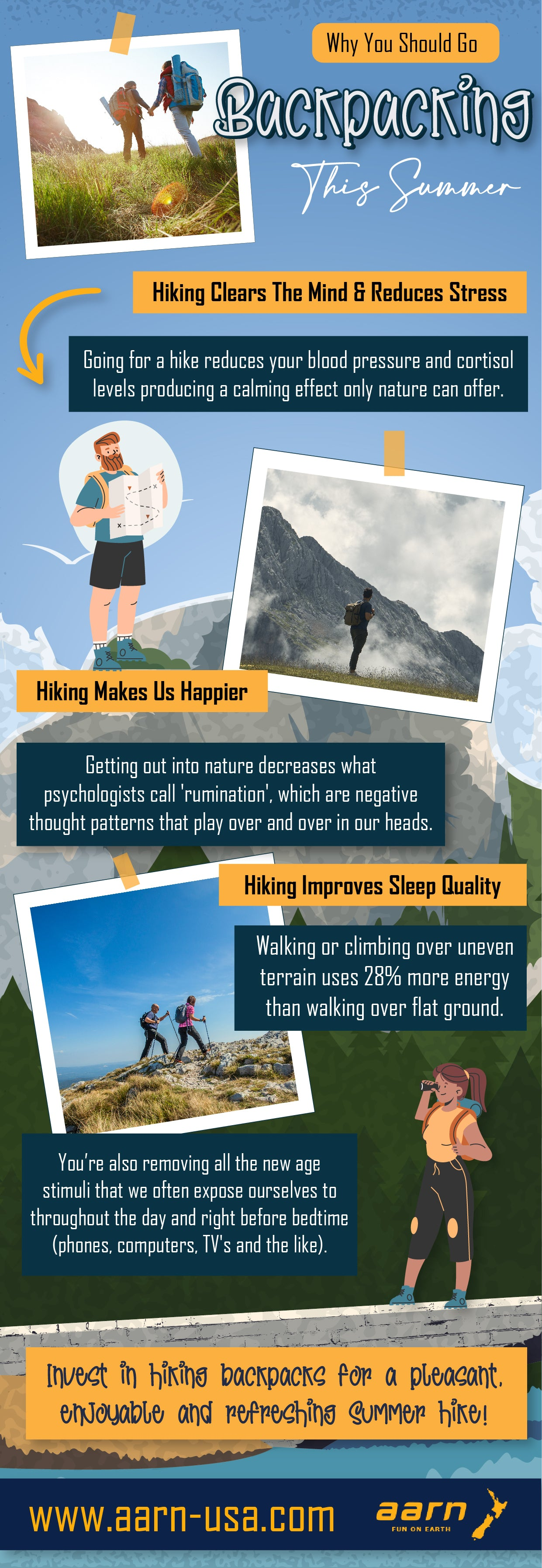 Why You Should Go Backpacking This Summer   Infographic