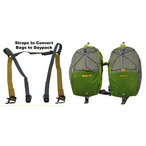 Aarn Sport Balance Pockets with Daypack Straps