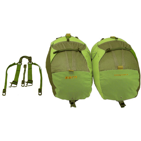 Aarn Expedition Balance Pockets with strap to carry as day pack