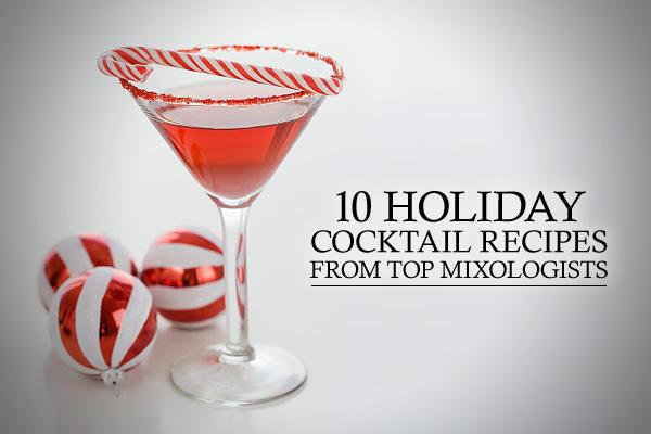 10 Cocktail Recipes That You Must Try This Holiday Season🎅🎅🎅
