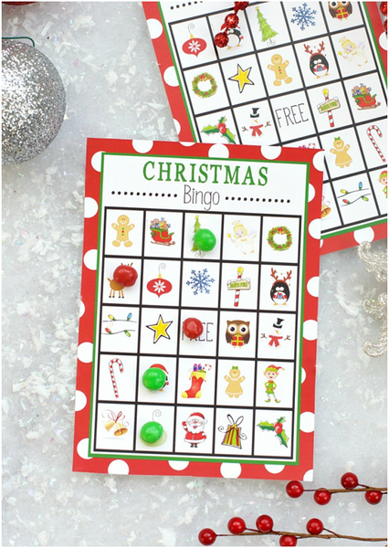 PRINT YOUR OWN CHRISTMAS BINGO GAME