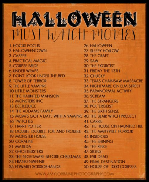 Must Watch Halloween Movies