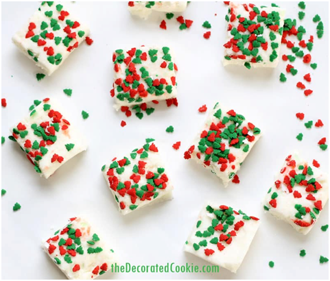 DRUNKEN SANTA FUDGE RECIPE