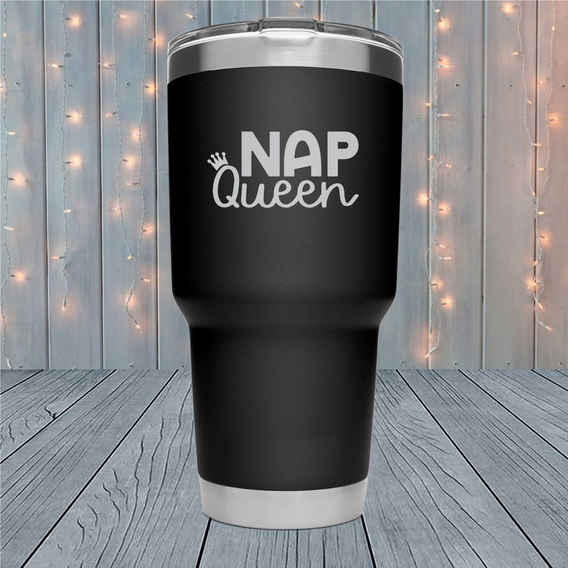 Nap Queen Laser Engraved Tumblers
