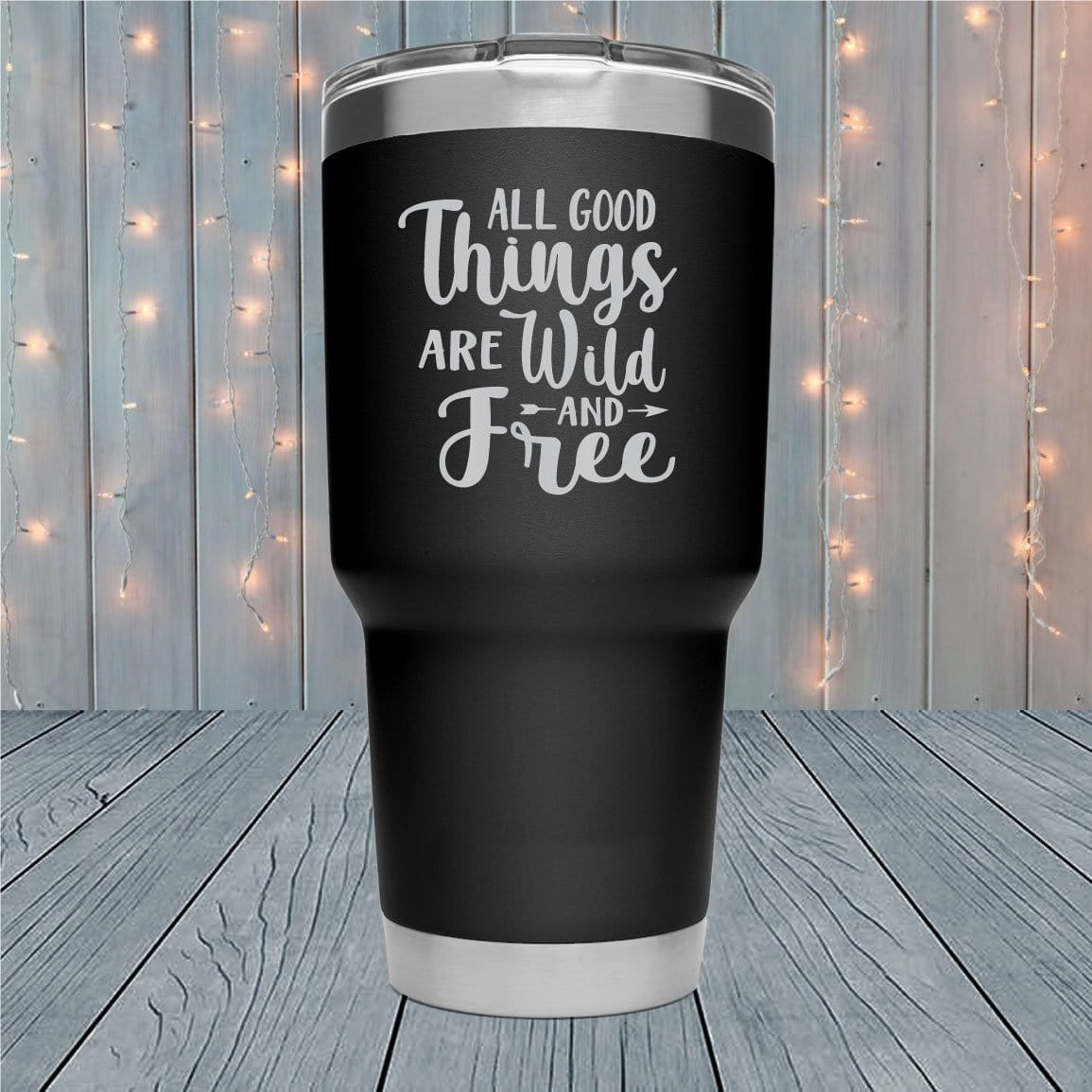 All Good Things Laser Engraved Tumblers