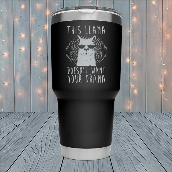 This Llama Laser Engraved Tumblers