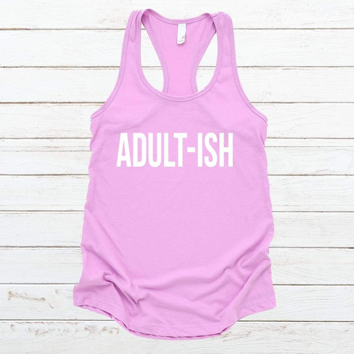 Adult-ish V-Necks And Tank Tops