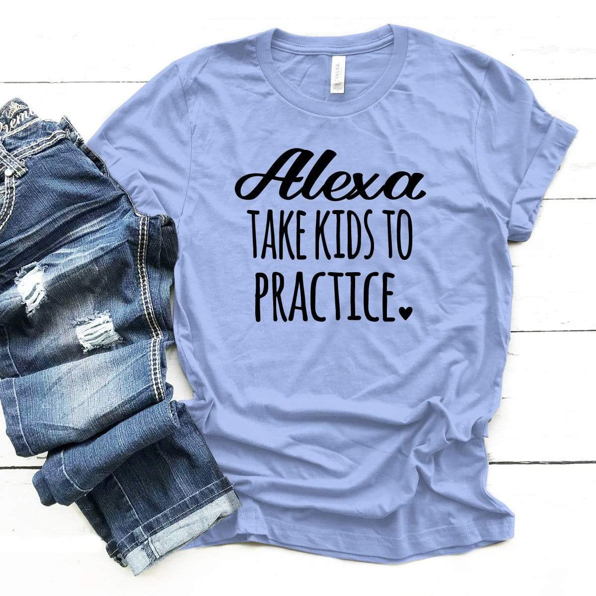 Alexa Take Kids To Practice Premium Unisex T-Shirt