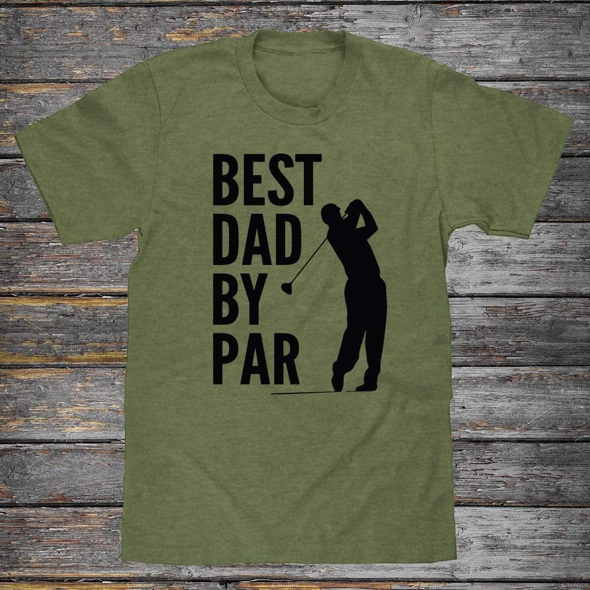 Best Dad By Par Premium Unisex T-Shirt
