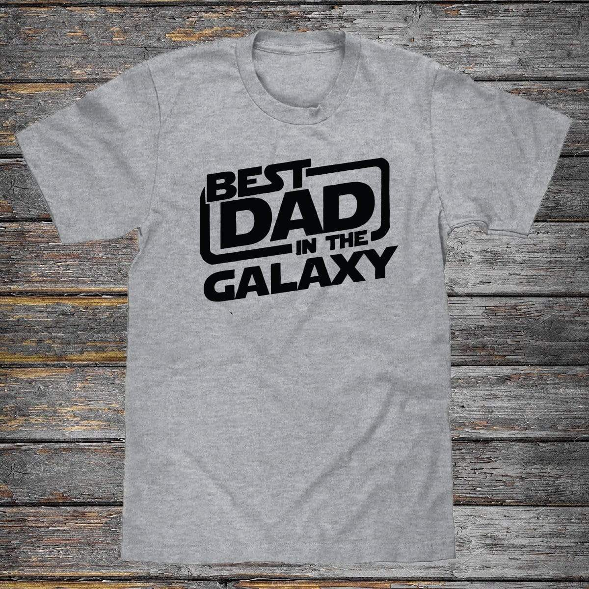 Best Dad In The Galaxy Premium Unisex T-Shirt