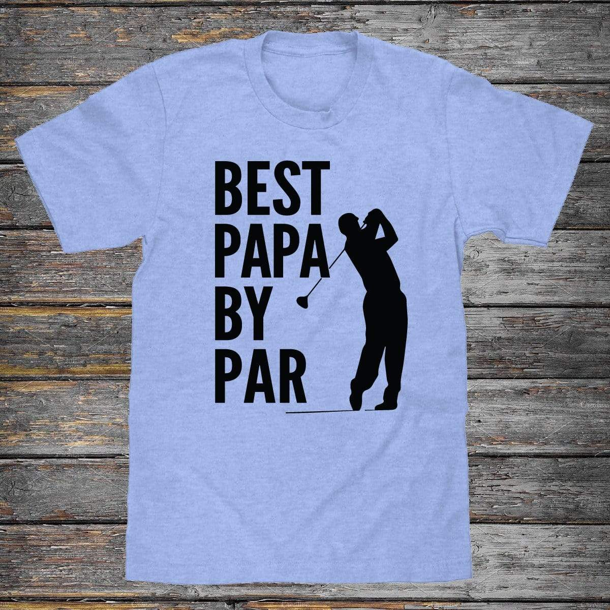 Best Papa By Par Premium Unisex T-Shirt