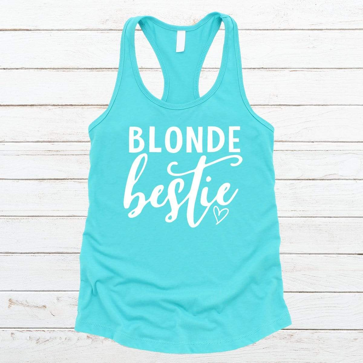 Blonde Bestie V-Necks And Tank Tops