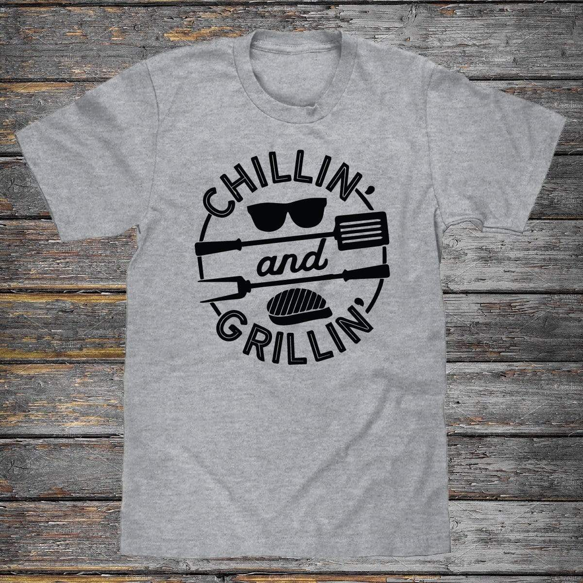Chillin And Grillin Premium Unisex T-Shirt